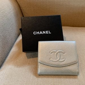 Chanel Caviar Timeless Compact Wallet